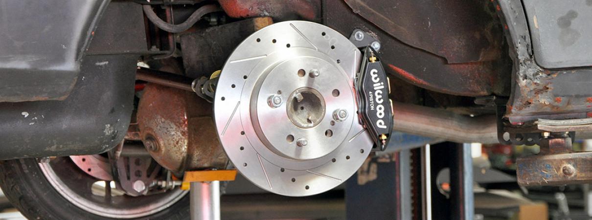 510 Wagon Rear Disc Brake Conversion   Techno Toy Tuning