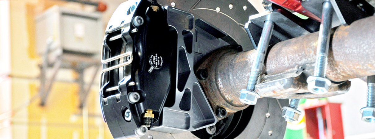 510 Wagon Rear Disc Brake Conversion | Techno Toy Tuning