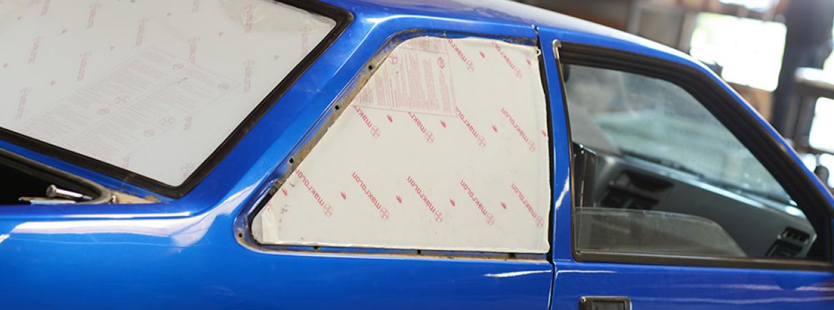how to cut lexan windows