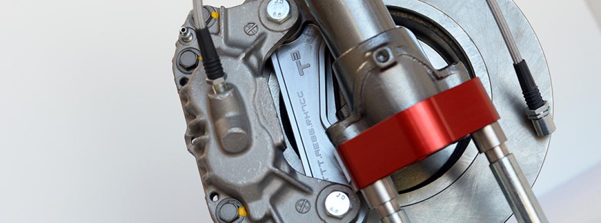FC Caliper Conversion Brackets for AE86 Corolla | Techno Toy Tuning